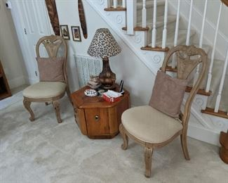 Chairs and End Tables
