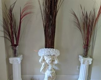 Figural Plant Stands