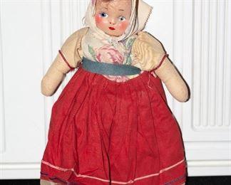 #348/$30 Vintage doll