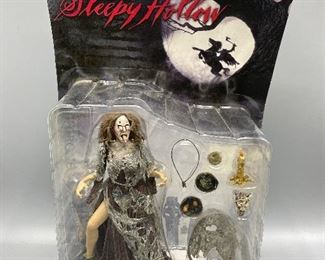 "#384/$20                                                                                                               McFarlane Toys ""Sleepy Hollow"" The Crone Action Figure"