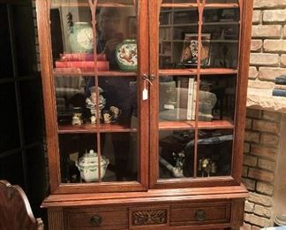 Another display cabinet with storage and display space