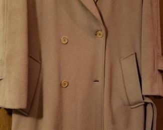 Dejue Full Length Wool Coat