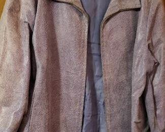 Massimo Leather Coat