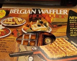 Blegian Waffle Iron