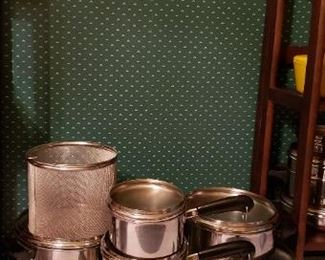 Revere Cookware with copper bottom - 13Pc Set