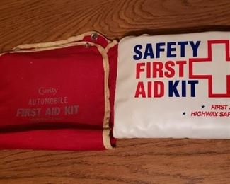 Vintage Curity First Aid Kit