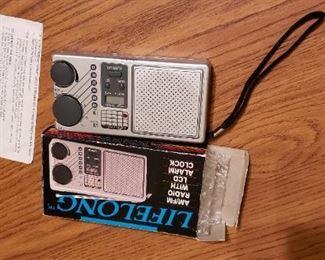 Lifelong Portable Radio