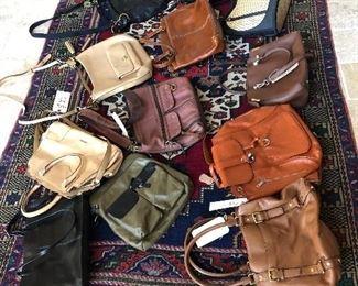 handbags -loads Michael Kors, Coach etc - very good shape!
