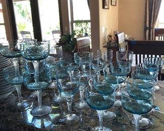 Blue Glasses crystal