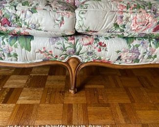 "French sofa                                                                              450.00     30""h x 74""l x 31""d"