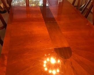 Flawless finish on a Dining  Table.