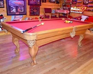 Beautiful AMF Playmaster pool table. This item is now available to purchase.  $2,100.