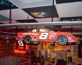 NASCAR #8, Dale Earnhardt, Jr. Budweiser pool table light