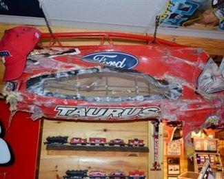 front end of Bill Elliott's car at Daytona 500