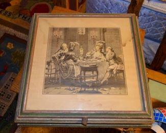 Victorian vanity/storage/document box