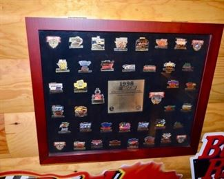 1998 Nascar Winston Cup pin collection