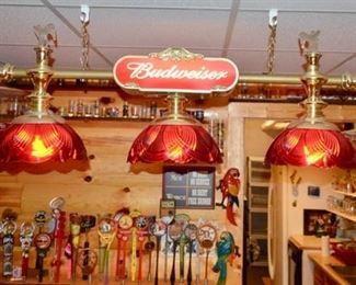 Budweiser bar light