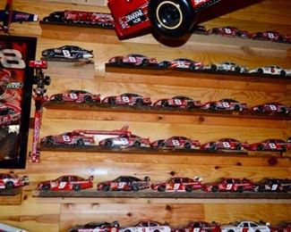 great collection of NASCAR die cast cars
