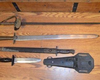 swords & knives