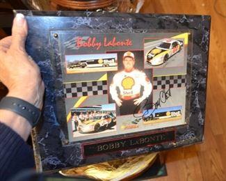 Bobby Labonte signed collage