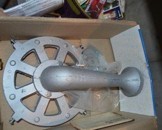 cast iron banjo burner