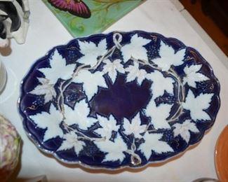 Meissen leaf plate