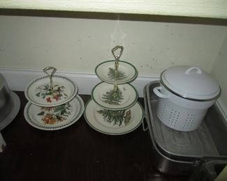 SERVING ITEMS AND POTS