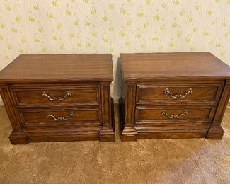 Pair of Drexel nightstands