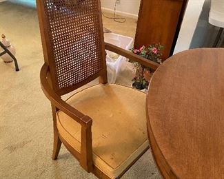 2 armchairs and 4 side chairs
