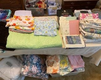 bedding, a lot new in packaging