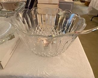 Shannon leaded crystal punch bowl