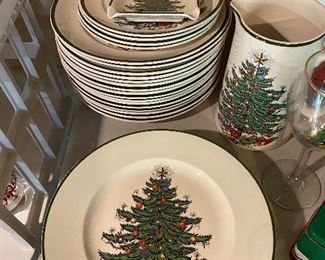 Cuthbertson Christmas dishes