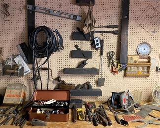 vintage planers and tools