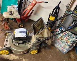 John Deere push mower