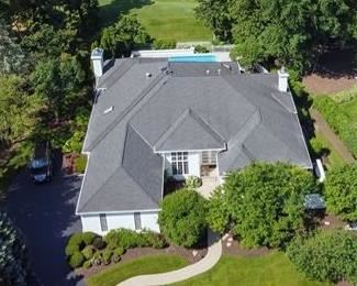 Aerial View of our Estate Sale Home.