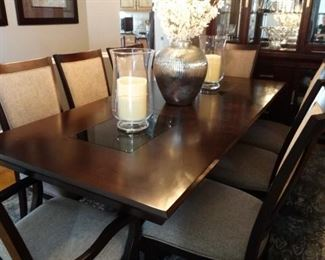 Najarian Dining table and 8 chairs