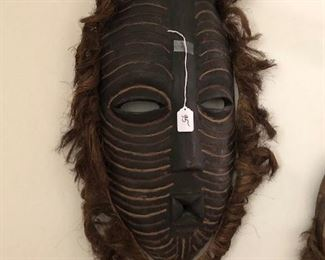 African mask (halloween is right around the corner)