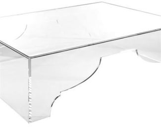 Marrakesh Coffee Table  We have 2 (acrylic vase/Glass tops)