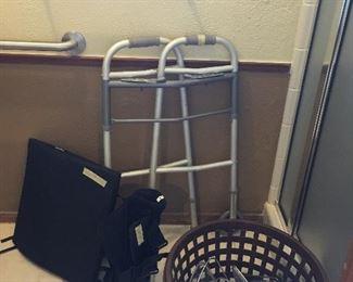 Health Aid items, shower trays