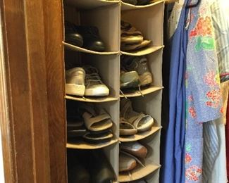 Lots more shoes and sandals