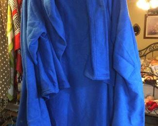 A snuggle robe