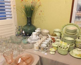 Corning dishes, great vintage china