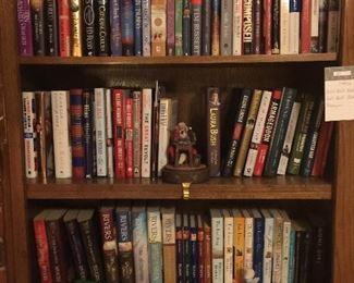 Lots of novels, Biographies, History