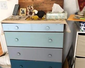 Charming shade of blue Dresser