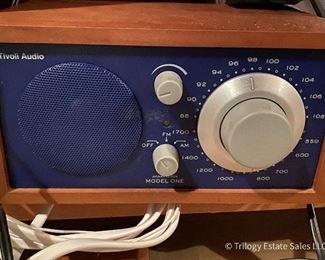Tivoli Model One AM/FM Radio, navy blue face $45