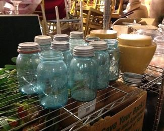 Ball Mason Jars different sizes