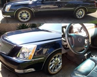 2007 Cadillac DTS Limited Edition with 98,830 Mileage