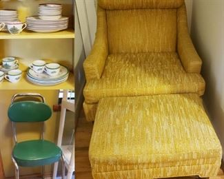 Mid Century Milo Baughman for Selig Monroe Chair in great condition.