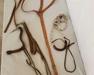 408	  Cowboy Running Martingale and Three Tie Downs Cowboy Running Martingale and Three Tie Downs