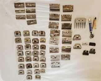 261	  Clipper Blades and Lots of Them Clipper Blades- Oster-Stewart-Sunbeam all in this lot